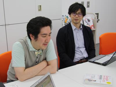 小川卓さん、野口竜司さん