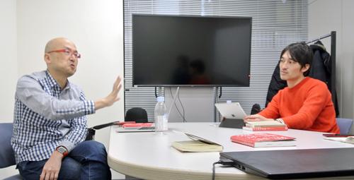 左:佐藤尚之さん(ツナグ 代表、4th 代表)、右:高橋 遼さん(トライバルメディアハウス チーフコミュニケーションデザイン)